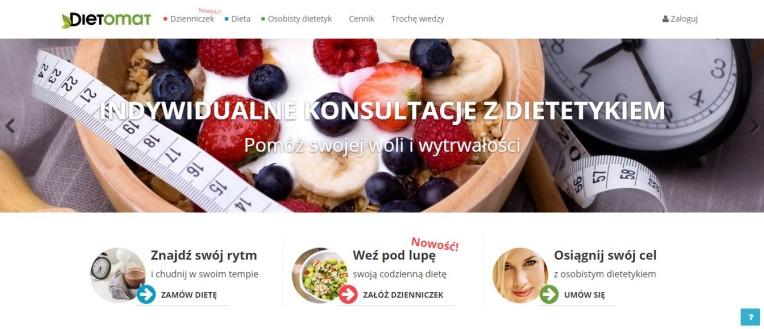Dietomat.pl - najlepsze diety. Duża baza produktów i profesjonalna obsługa. Wypróbuj!